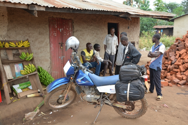 Puncture repair entetains a village