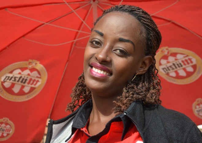 Sandrine is Burundian