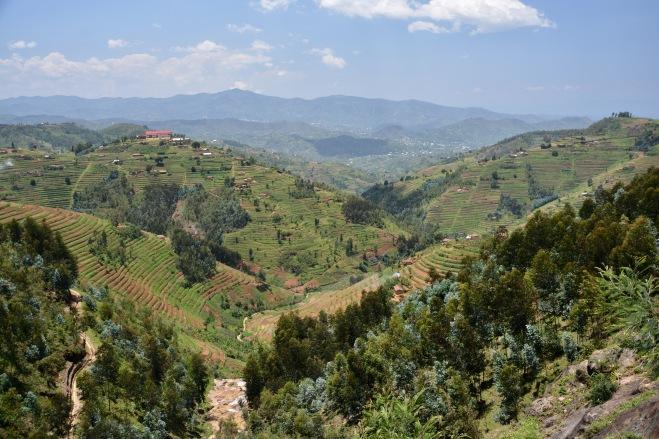 On the road to Kibuye, Rwanda