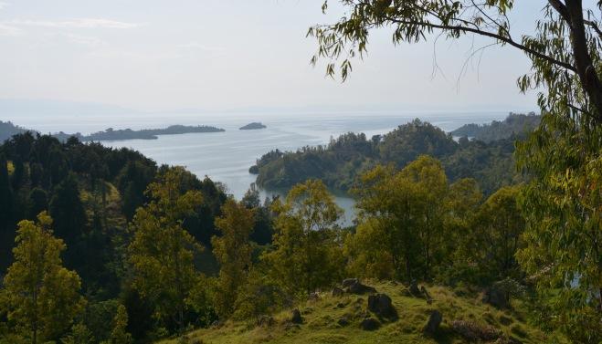 Kibuye on Lake Kivu, Rwanda