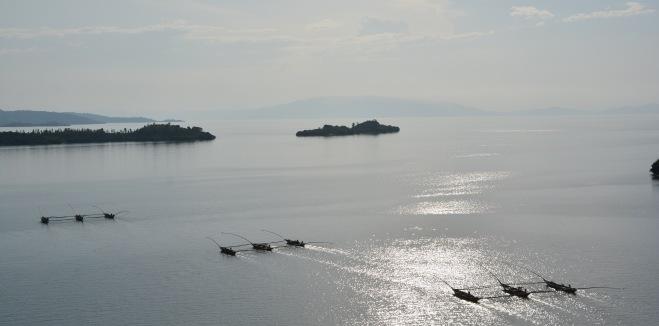 Fishermen at Lake Kivu, Rwanda