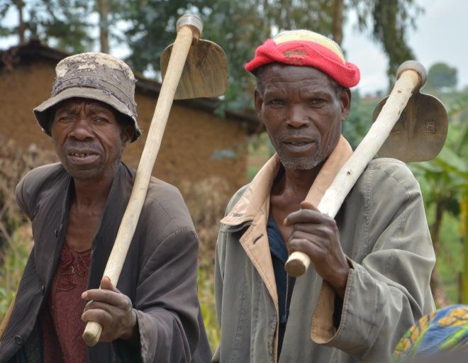 Astonished by the whiteman... Rwanda
