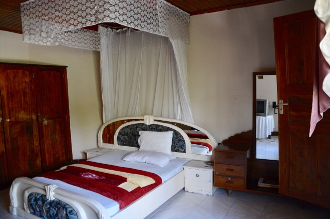 African taste can be so bad! My bed in Musoma, Tanzania