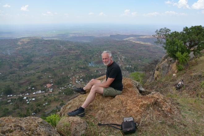 JB at Sipi, Uganda